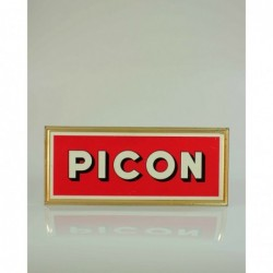 """Skilt """"Picon"""""""