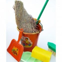 rengøringssæt i æske (legetøj)